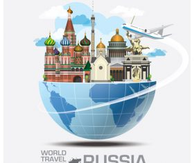 World travel with global travel creative vector design 10