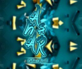 Ashasr Ahmed 3D PSD Material