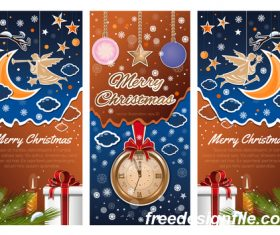 3 Kind Vector Christmas banners