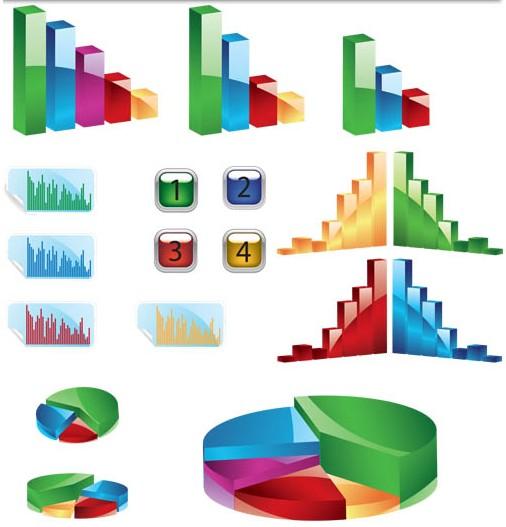 3d Diagrams Vector Free Download