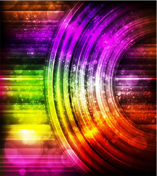 Abstract Backgrounds Set 5 vector