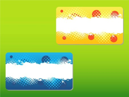 Abstract Business Cards creative vector