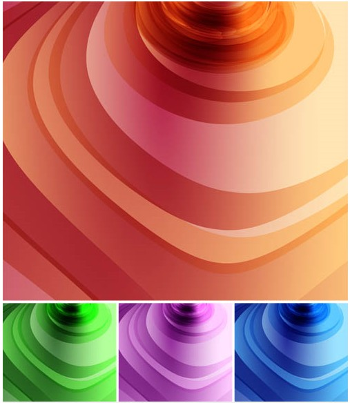 Abstract Design Backgrounds vector material