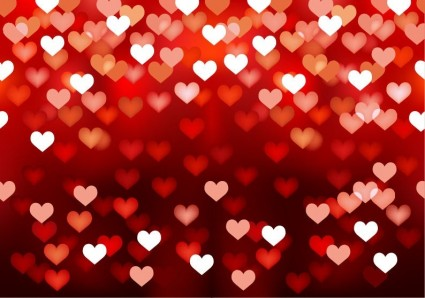 Abstract Love Heart Background vector