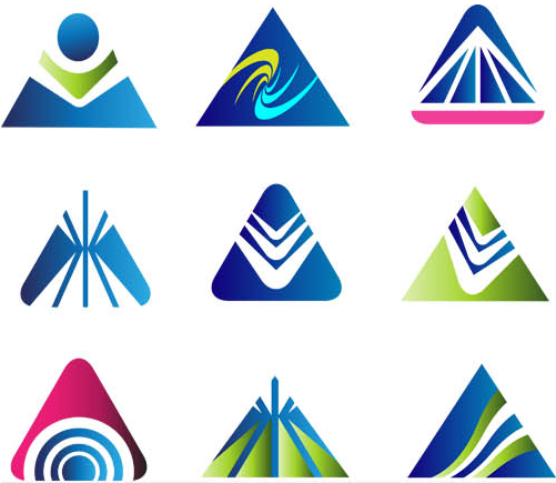 Abstract Mountains Logo vector