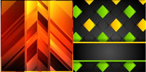 Abstract Style Backgrounds 28 design vectors