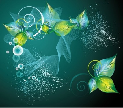 Abstract Swirl Background vector graphics