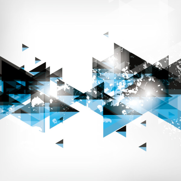 Abstract Triangle background vectors graphic