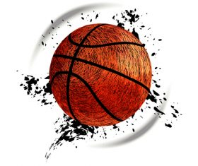 Abstract basketball background illustration vectors 03