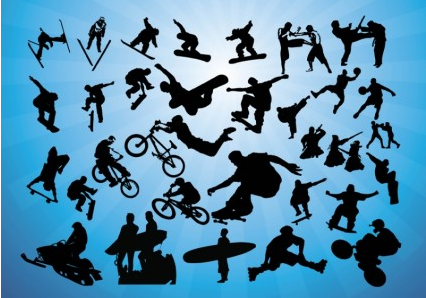 Action Sports vector