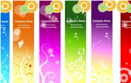 Ads banners free vector