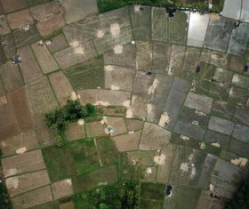 Aerial photography farmland Stock Photo 05