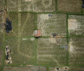 Aerial photography farmland Stock Photo 06