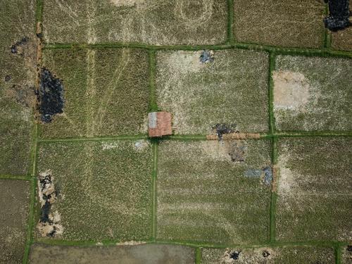 Aerial photography farmland Stock Photo 06