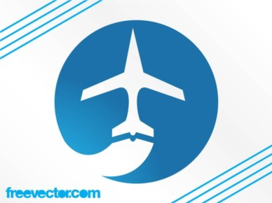 Airplane Logo Graphics vector