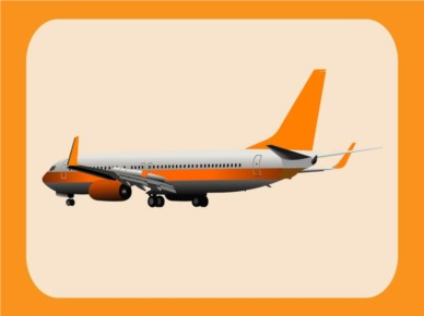 Airplane Graphics vector graphic