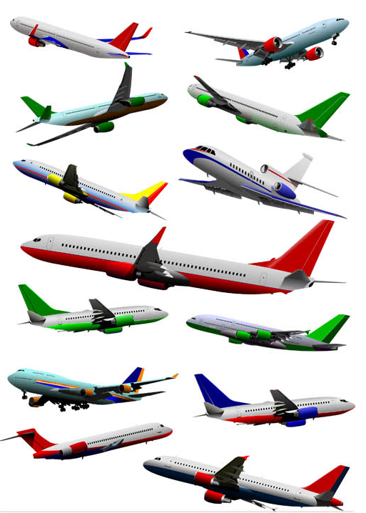 Airplane graphic design vector