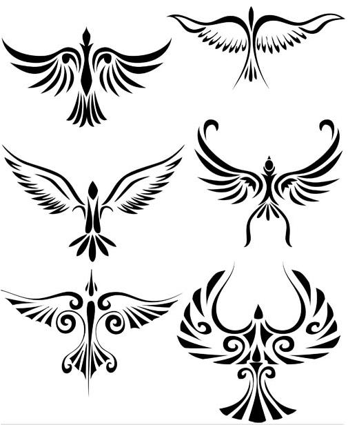Animals Tatto Mix 2 vector graphics