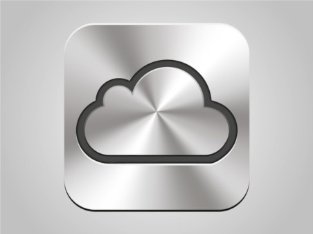 Apple iCloud Icon vector