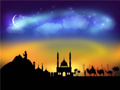 Arabic Night Vector vectors