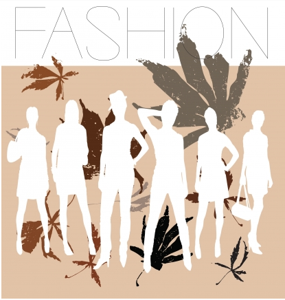 Autumn fashion vector design