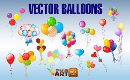 Balloons Clip Art vectors