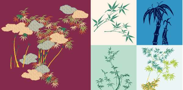Bamboo free vectors