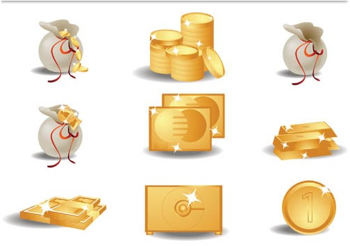 Banking Icons free vector