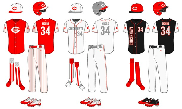Baseball Uniform Template Free vector