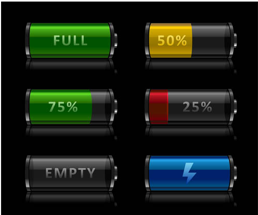 Battery Charge free Illustration vector