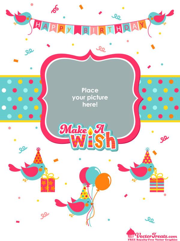 Birthday background graphics 1 vector graphics