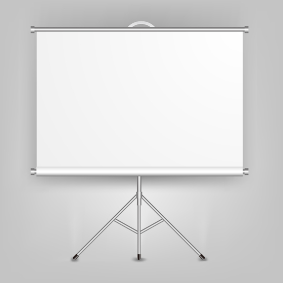 Blank Billboards background vector set