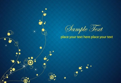 Blue Background free vectors material