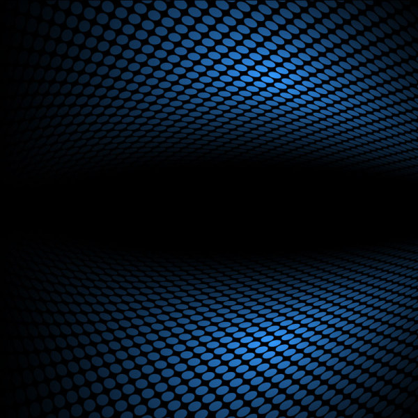 Blue Halation background 1 set vector