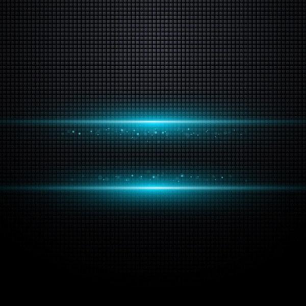 Blue Halation background 3 vector