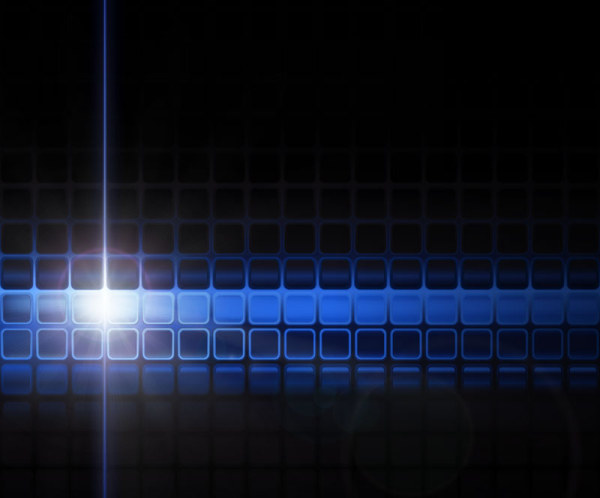 Blue Halation background 5 vector
