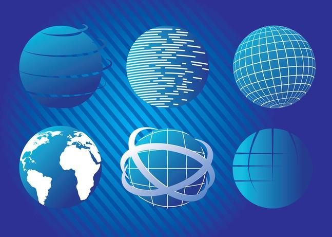 Blue Planet vectors