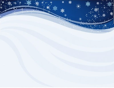 Blue Winter Background vector
