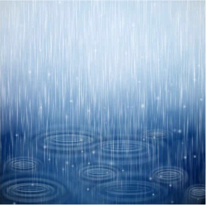 Blue raindrops Background Illustration vector