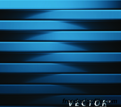 Blue wooden wall background vector