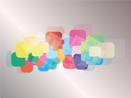 Blurred Squares vector graphics