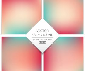 Blurred multicolor background art vectors graphic 06