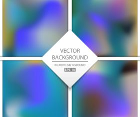 Blurred multicolor background art vectors graphic 07