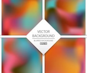 Blurred multicolor background art vectors graphic 10
