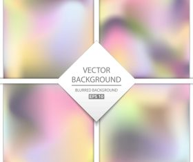 Blurred multicolor background art vectors graphic 11