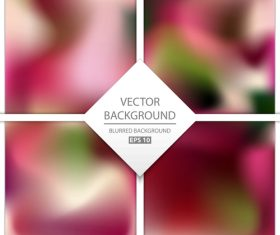Blurred multicolor background art vectors graphic 13