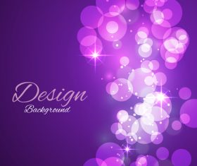 Bokeh styles with colored backgrounds vector 03