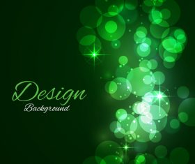 Bokeh styles with colored backgrounds vector 04
