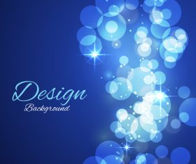 Bokeh styles with colored backgrounds vector 06
