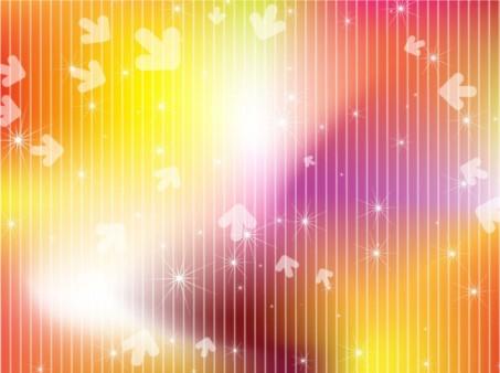 Bright Arrow Background vector